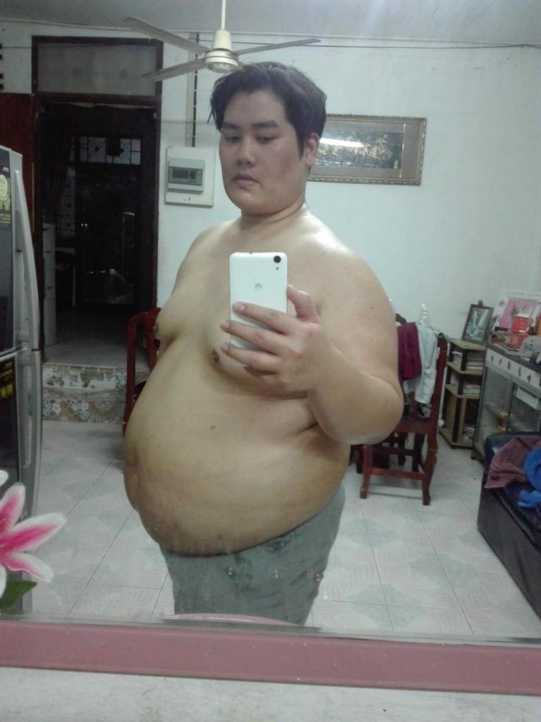 Chàng mập Thái Lan giảm một lèo 81kg rồi biến thành nam thần luôn - Ảnh 5.