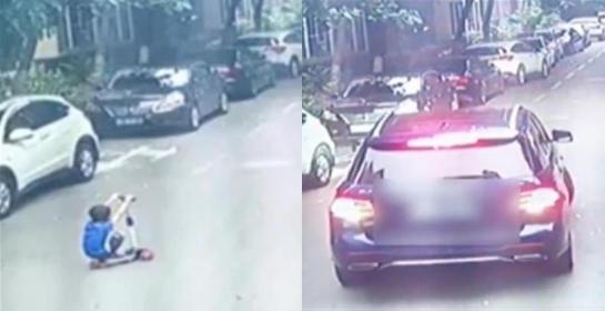 Bị ô tô cán qua người 2 lần khi đang chơi xe scooter giữa đường, bé trai 7 tuổi thiệt mạng vì lỗi sai sơ đẳng của người mẹ - ảnh 1