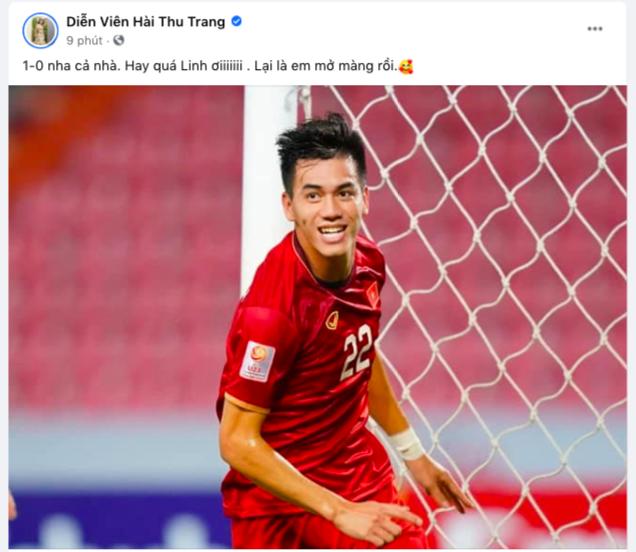 NGAY LÚC NÀY: Jack và cả showbiz đang đồng loạt gọi tên Tiến Linh sau bàn thắng mở tỷ số cho đội tuyển Việt Nam! - ảnh 5
