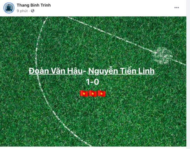 NGAY LÚC NÀY: Jack và cả showbiz đang đồng loạt gọi tên Tiến Linh sau bàn thắng mở tỷ số cho đội tuyển Việt Nam! - ảnh 11