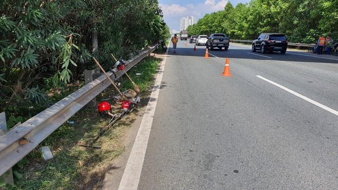 Hà Nội: Truy tìm tài xế gây tai nạn khiến nam công nhân tử vong trên đại lộ Thăng Long - Ảnh 1.