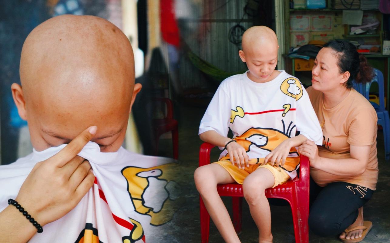 Đang học dở lớp 8, cô bé 14 tuổi phát hiện mắc bệnh ung thư xương, cha mẹ nghèo khóc cạn nước mắt tìm cách cứu chữa