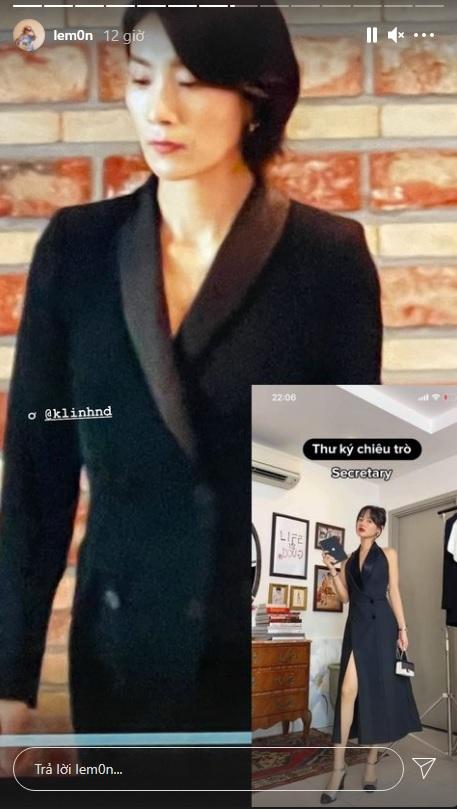 """Khánh Linh làm clip """"biến hình"""" thời trang, cơ mà sao nhìn cứ giống Mợ cả trong Mine thế này? - ảnh 1"""