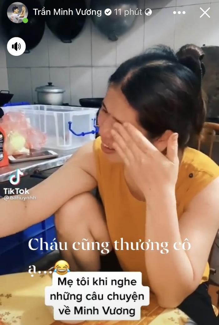 """Minh Vương đáp lời khán giả khóc vì thương mình: """"Cháu cũng thương cô ạ"""" - Ảnh 1."""