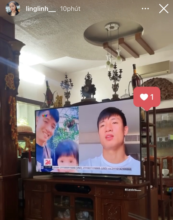 Xúc động hình ảnh con trai Duy Mạnh sà vào màn hình tivi ôm lấy bố - Ảnh 3.
