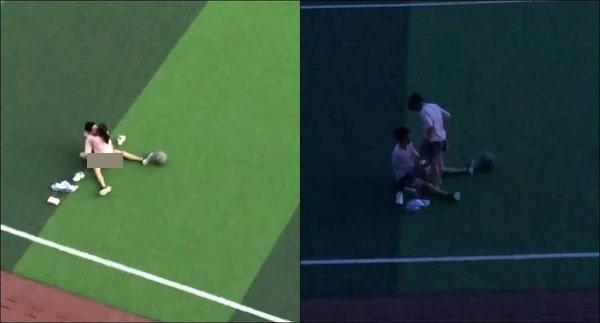 Rò rỉ video 2 học sinh quan hệ ngay giữa sân thể dục, người xem đồng loạt đòi Hiệu trưởng đình chỉ học - ảnh 1