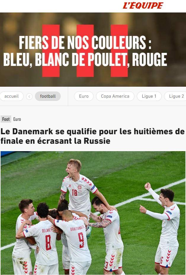 Báo chí thế giới ngã mũ thán phục trước màn thoát hiểm thần kỳ của Đan Mạch ở Euro 2020 - ảnh 10