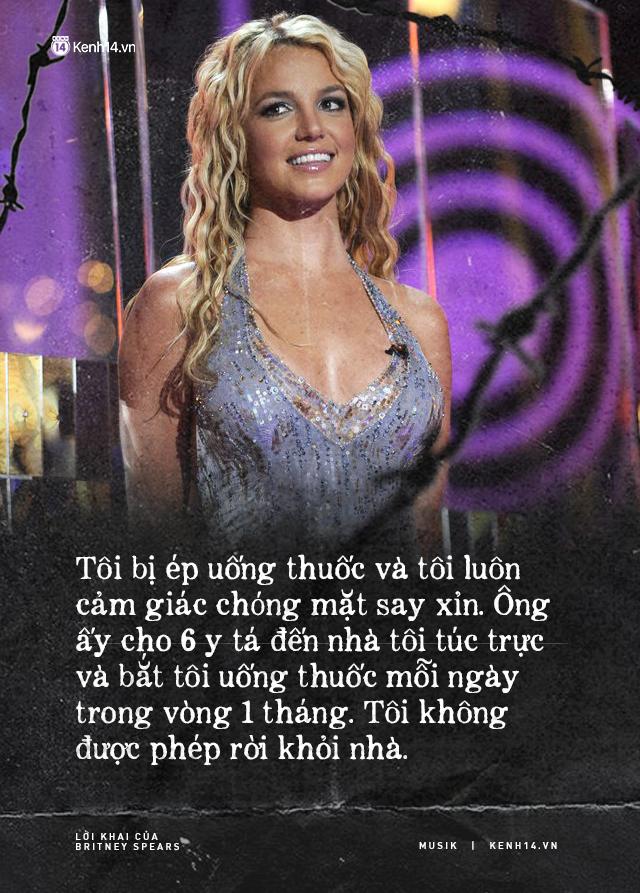 Cay đắng khi đọc trọn vẹn lời khai của Britney Spears trước tòa: Họ xem tôi như nô lệ. Tôi cảm thấy như mình đã chết - ảnh 5