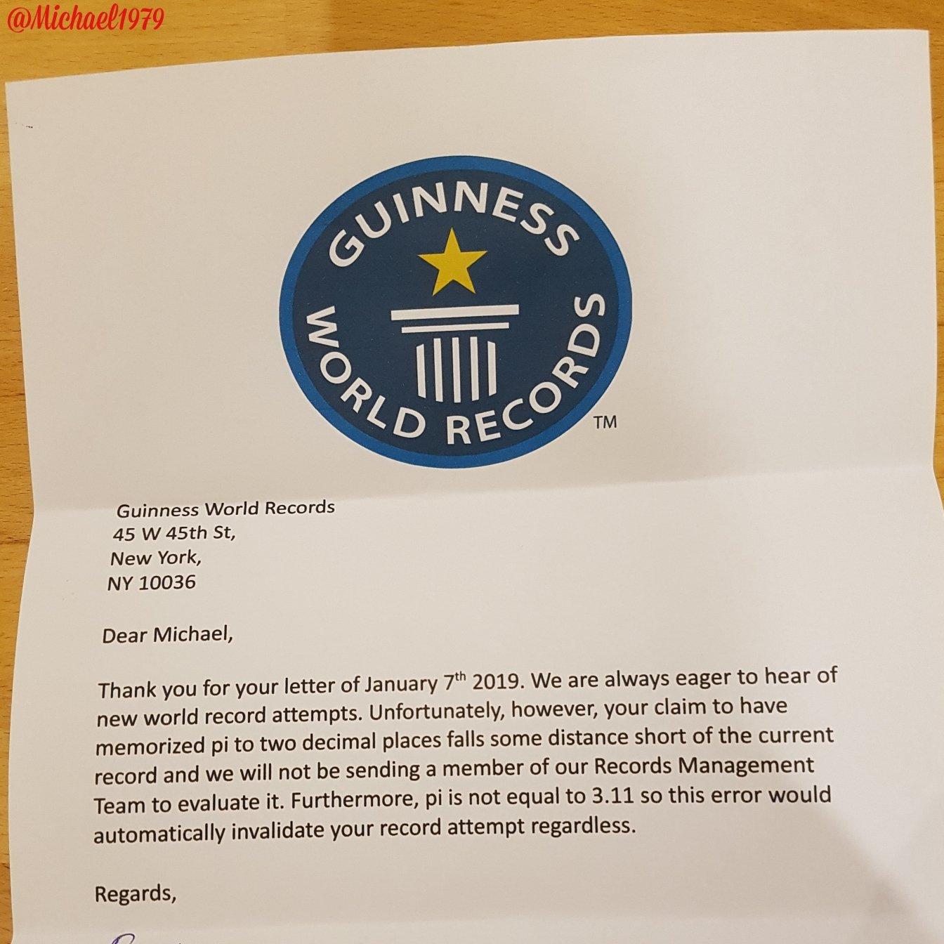 Thanh niên được Guinness viết thư từ chối vì kỷ lục không ai thèm phá, đã thế còn sai kiến thức cơ bản - Ảnh 1.