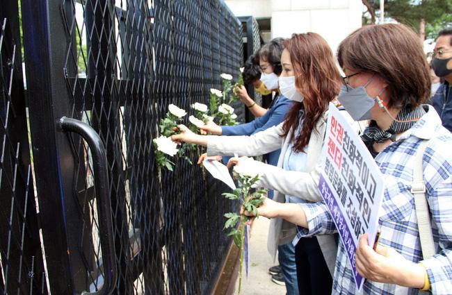 Vụ nữ sĩ quan Hàn Quốc bị các đồng đội cưỡng hiếp: Nạn nhân tự tử sau khi đăng ký kết hôn 1 ngày cùng loạt tình tiết mới khiến dư luận căm phẫn - Ảnh 5.
