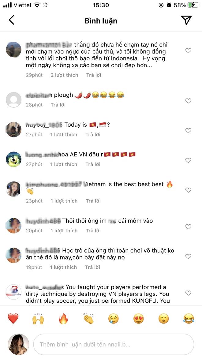 Cộng đồng mạng làm loạn Instagram cá nhân của HLV Indonesia vì phát ngôn cà khịa đội tuyển Việt Nam - ảnh 5