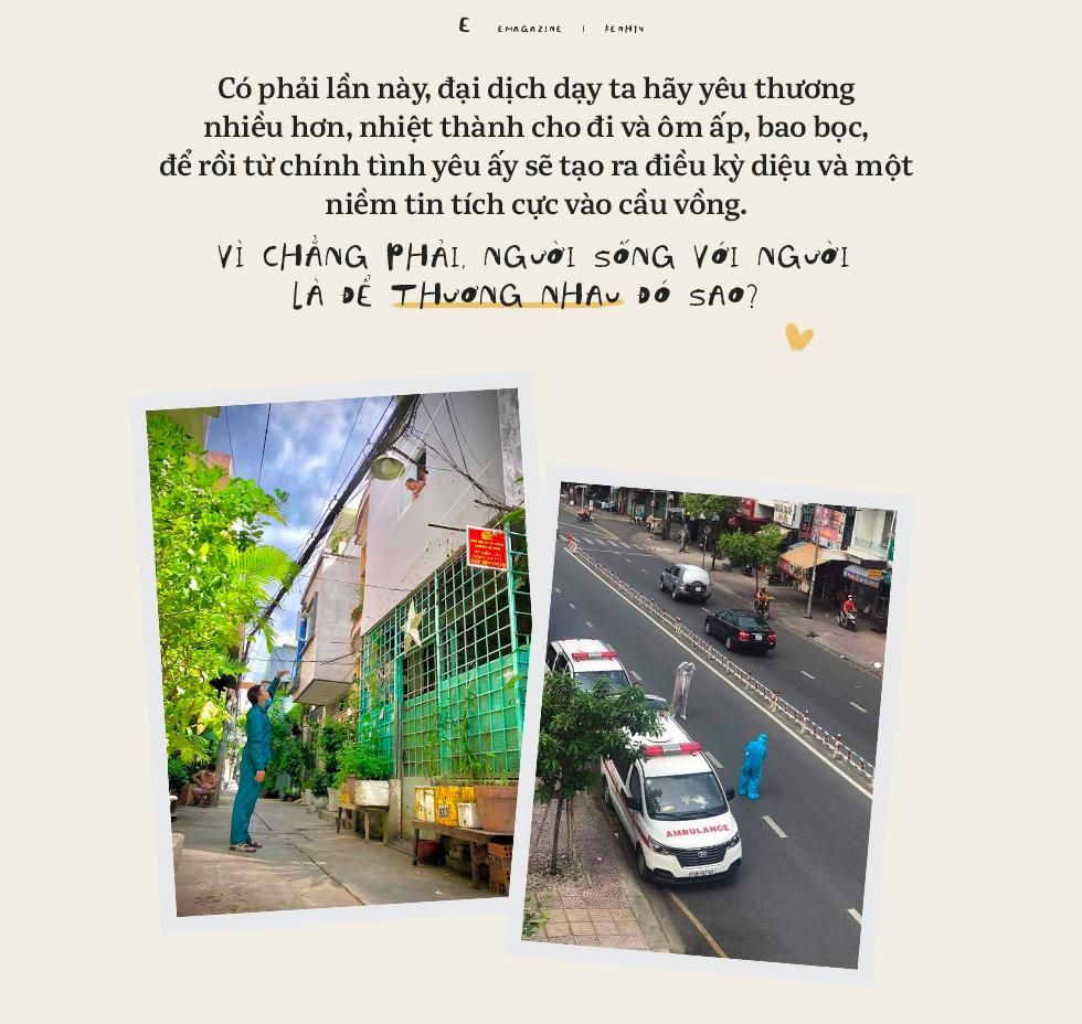 Sài Gòn giữa những ngày ngàn ca nhiễm: Người với người sống để thương nhau - Ảnh 16.