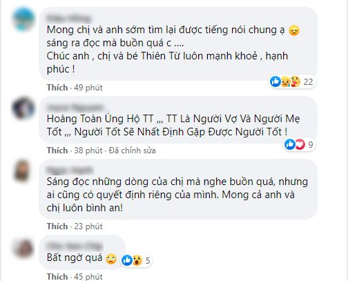 Netizen không thể tin nổi trước tin Đan Trường và vợ đại gia đã ly hôn, Cao Thái Sơn và dàn sao Việt ồ ạt vào bình luận - Ảnh 6.