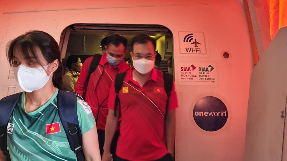 Đoàn thể thao Việt Nam đã tới Tokyo an toàn, tiến hành kiểm tra y tế trước khi nhập làng VĐV - Ảnh 1.