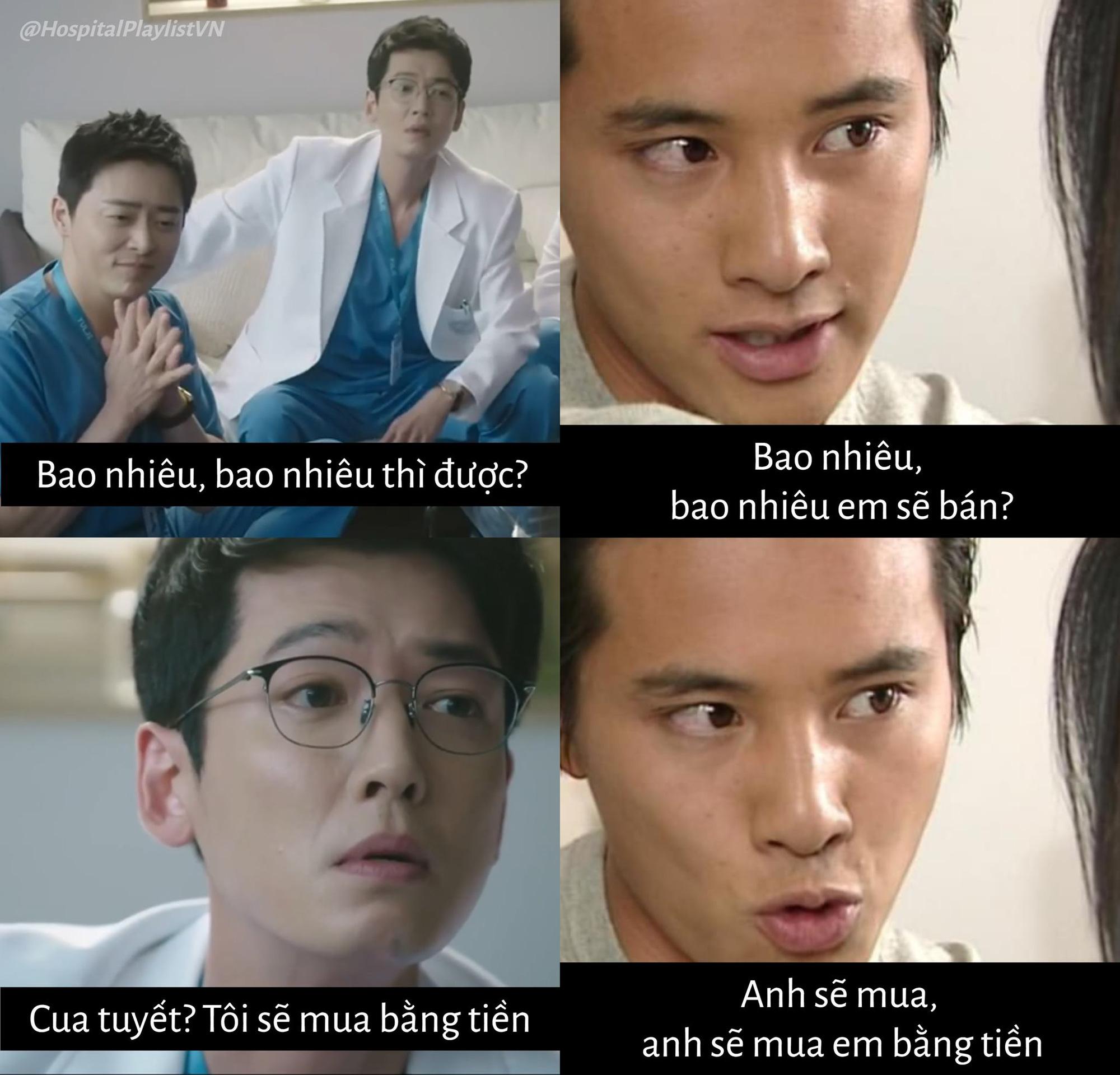 Hai chúa hề Hospital Playlist bị Song Hye Kyo - Won Bin nhập, ăn cua tuyết thôi mà tưởng Trái Tim Mùa Thu ùa về! - Ảnh 3.