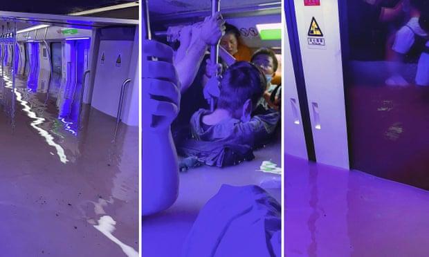 12 người chết thảm vì lũ ngập tàu ở TQ: Điện thoại sập nguồn, 500 người tuyệt vọng Nước tới ngực! Kết thúc rồi! - ảnh 2