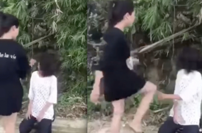 Vụ clip nữ sinh bị bạn học hành hung ở Lào Cai: Cơ quan chức năng vào cuộc - Ảnh 1.