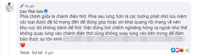 Cao Thái Sơn bị chỉ trích vì tư thế đứng phản cảm, chính chủ lên tiếng giải thích có hợp lý? - ảnh 3