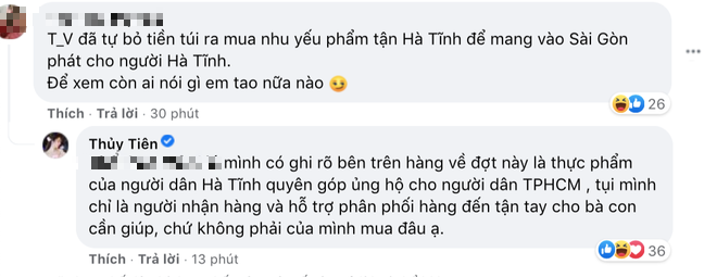 Thuy Tien was accused of
