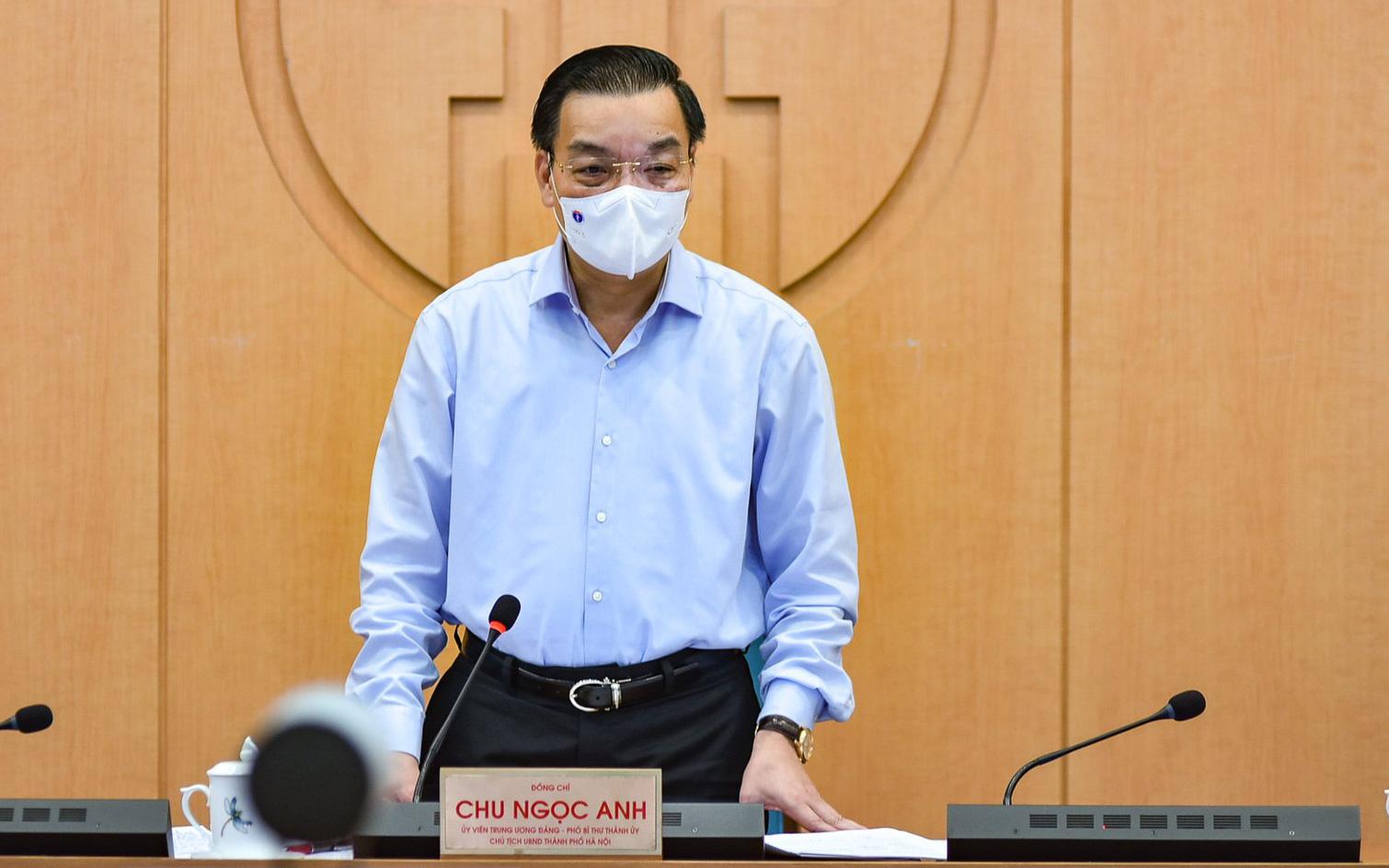 Chủ tịch Hà Nội kêu gọi người dân khai báo y tế thường xuyên, đặc biệt là những trường hợp ho sốt, khó thở