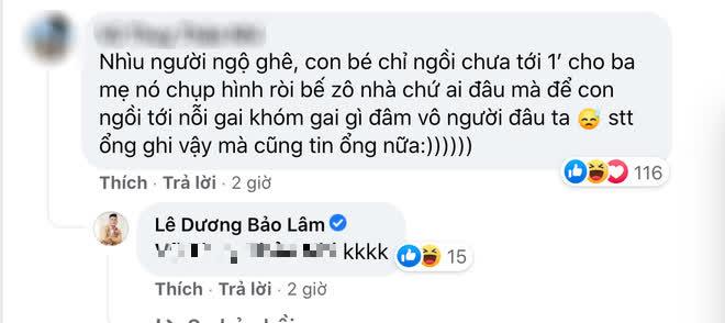 """Lê Dương Bảo Lâm hứng nguyên rổ """"gạch"""" từ netizen vì để con gái ngồi lên thực phẩm chụp ảnh, lời giải thích có hợp lý? - ảnh 3"""