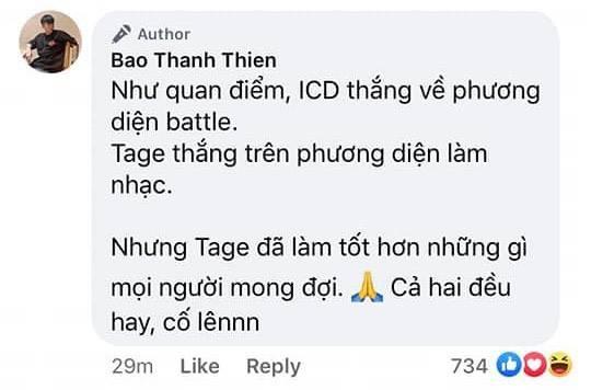 Làng rap trẩy hội hóng battle ICD và Tage: MCK và tlinh lựa được người thắng cuộc, LK nói gì khum ai hiểu, B Ray huề vốn! - Ảnh 9.