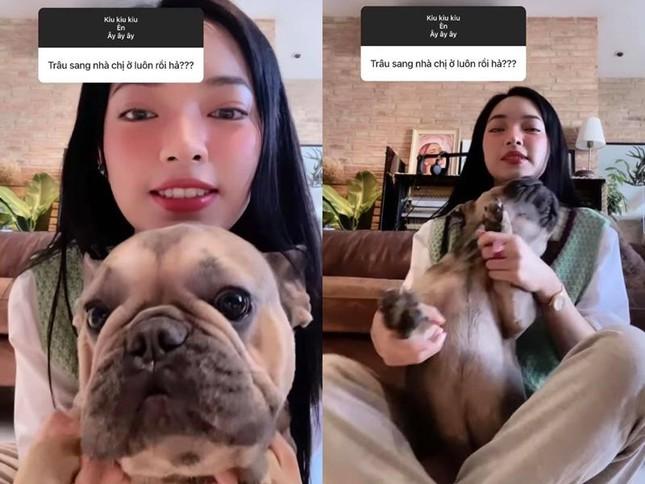 Châu Bùi khoe đang nuôi thú cưng của Binz sau ồn ào rapper số 1 Việt Nam, tiết lộ đã lỡ yêu nhau rồi? - Ảnh 2.