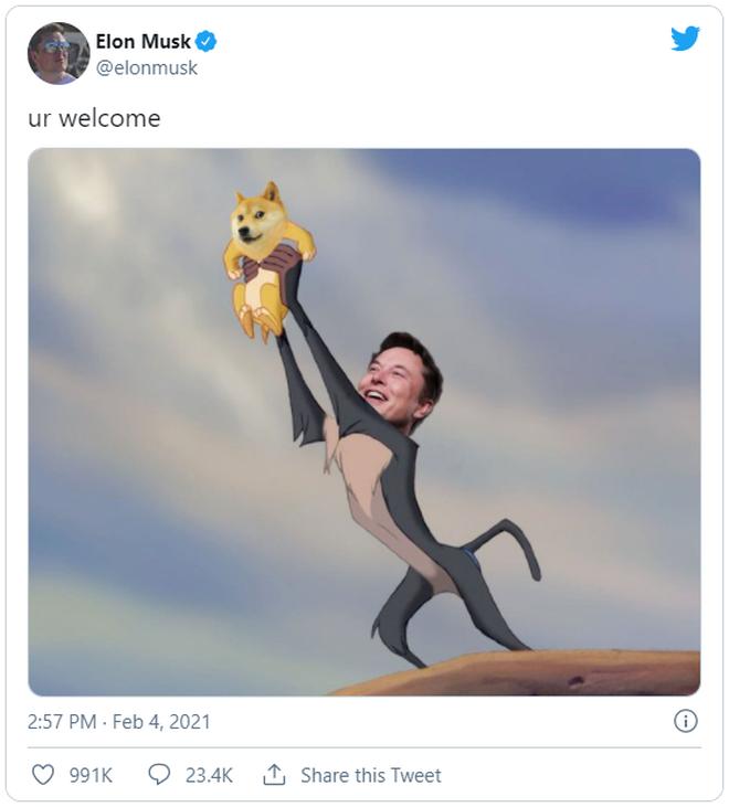 Cùng nhìn lại 10 lần Elon Musk làm điên đảo thị trường tiền số trong một năm qua - ảnh 8