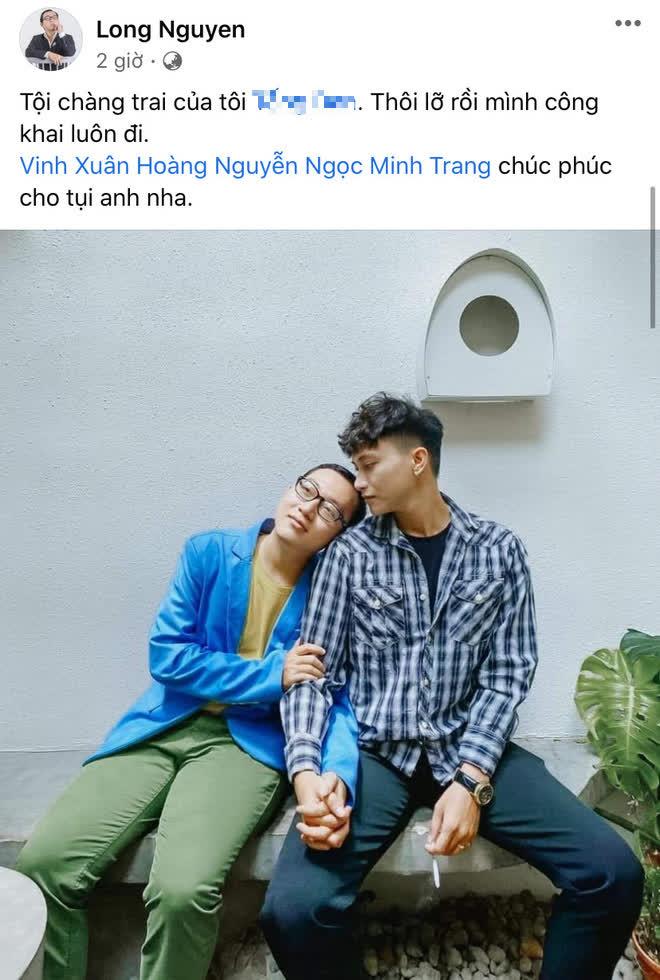 Drama ngoại tình được làm rõ: Vinh Râu xin lỗi bạn nam bị hiểu lầm là Tuesday, Lương Minh Trang bị biên kịch Fap Tv nhắc nhở? - ảnh 2
