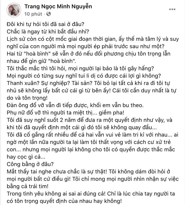 Chưa hết căng: Vinh Râu đáp trả khi bị Lương Minh Trang bóc phốt, Huỳnh Phương vào thừa nhận bạn thân có cái sai rất lớn? - ảnh 4