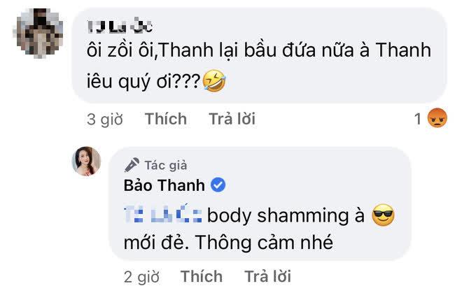 Bảo Thanh tươi tắn khoe sắc vóc hậu sinh con, netizen vào bình phẩm body-shaming liền nổi đoá đáp trả! - ảnh 3