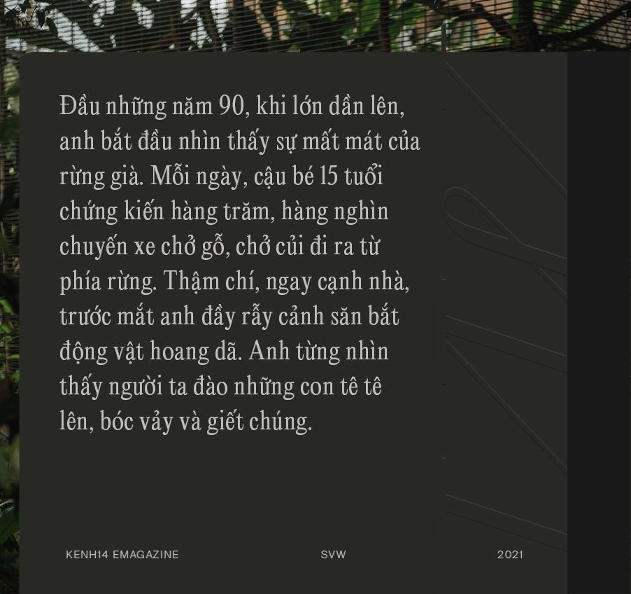 """Đi tìm công bằng cho tê tê - Câu chuyện đầy xúc động của Nhà bảo tồn đầu tiên tại Việt Nam dành giải thưởng danh giá Nobel xanh"""" - Ảnh 5."""