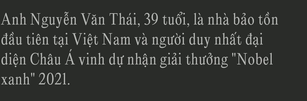 """Đi tìm công bằng cho tê tê - Câu chuyện đầy xúc động của Nhà bảo tồn đầu tiên tại Việt Nam dành giải thưởng danh giá Nobel xanh"""" - Ảnh 1."""