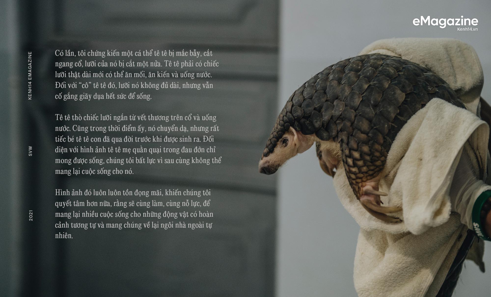 Đi tìm công bằng cho tê tê - Câu chuyện đầy xúc động của Nhà bảo tồn đầu tiên tại Việt Nam giành giải thưởng danh giá Nobel xanh - Ảnh 29.