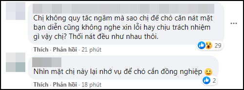 Góc chơi dại: Hoa đán số 1 TVB công khai đá đểu Ngô Diệc Phàm, ai dè bị khui lại phốt thả chó cắn nát đầu bạn diễn - Ảnh 4.