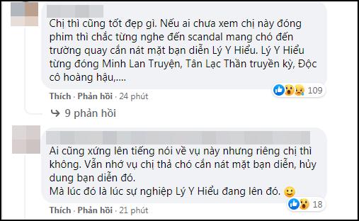 Góc chơi dại: Hoa đán số 1 TVB công khai đá đểu Ngô Diệc Phàm, ai dè bị khui lại phốt thả chó cắn nát đầu bạn diễn - Ảnh 5.