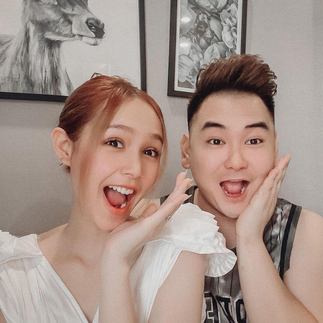 """Xoài Non chia sẻ bộ ảnh trước và sau khi cưới streamer giàu nhất Việt Nam, tiết lộ bí mật """"dại trai"""" đầy bất ngờ!"""