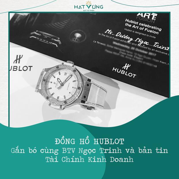 Nói là làm, Hương Giang chuyển nóng 900 triệu đồng mua đồng hồ Hublot của BTV Ngọc Trinh để quyên góp chống dịch - Ảnh 5.