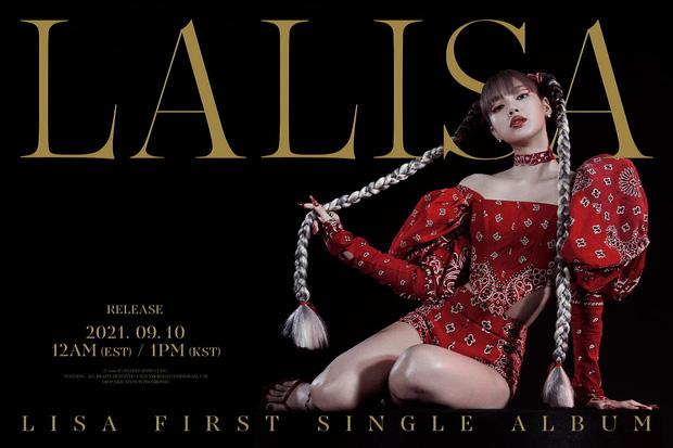 Lisa phá vỡ kỷ lục tiếp theo về lượng pre-order album nhưng lượt xem teaser  lại để thua xa Rosé!