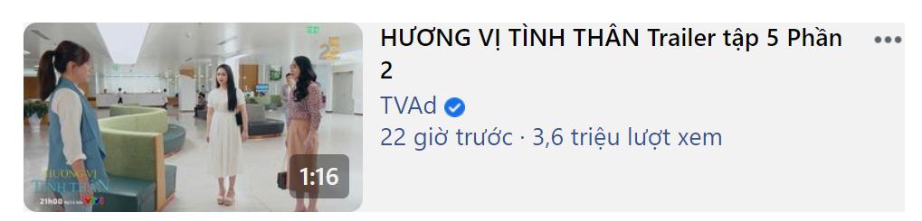 Hương Vị Tình Thân lập kỷ lục chưa từng có cho truyền hình Việt, đã view khủng còn chễm trệ trên top trending - Ảnh 2.