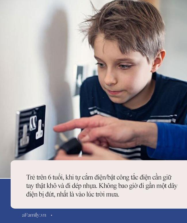 Từ vụ bé trai 10 tuổi ở Hà Nội giật điện chết thương tâm: Đây là những điều bố mẹ cần lưu ý để bảo vệ tính mạng con - ảnh 2