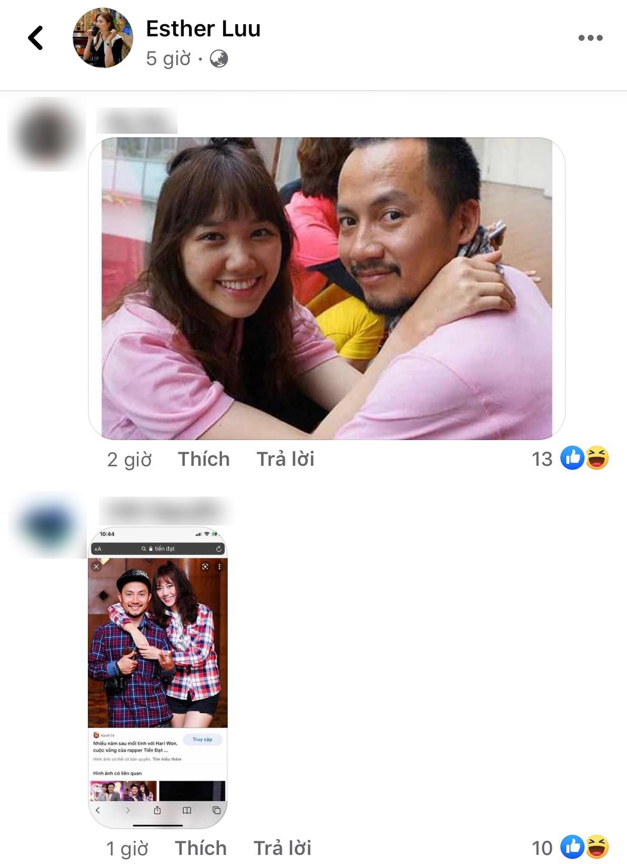 Netizen kém duyên liên tục spam ảnh Tiến Đạt vào Facebook của Hari Won - Ảnh 2.