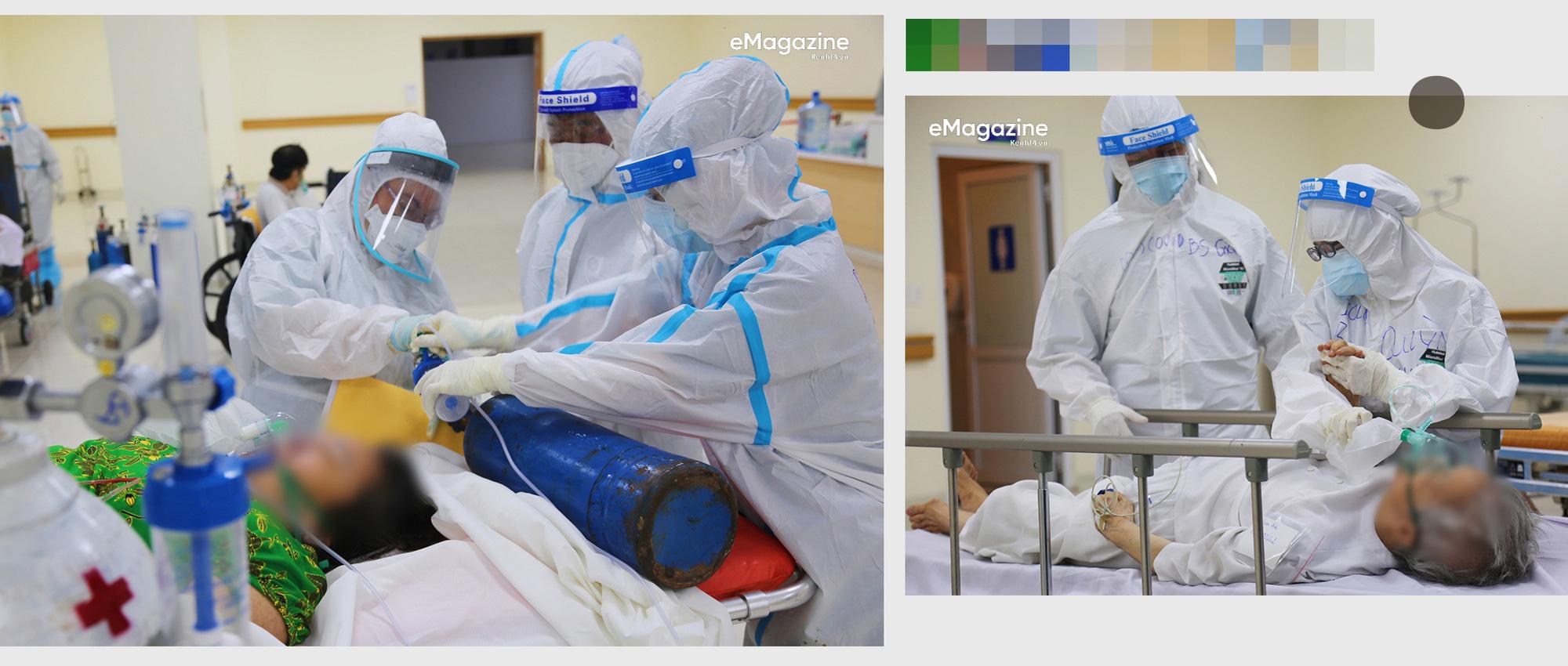 """7 giờ tại bệnh viện hồi sức Covid-19: Phút cân não giành giật từng hơi thở và cái cúi đầu """"tạm biệt"""" - Ảnh 17."""