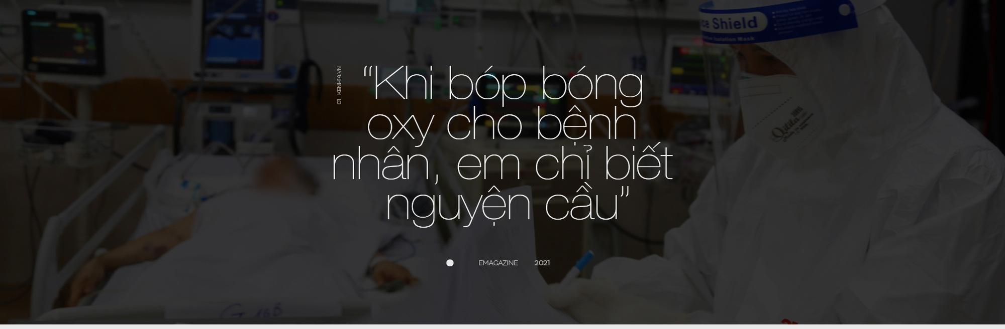"""7 giờ tại bệnh viện hồi sức Covid-19: Phút cân não giành giật từng hơi thở và cái cúi đầu """"tạm biệt"""" - Ảnh 19."""