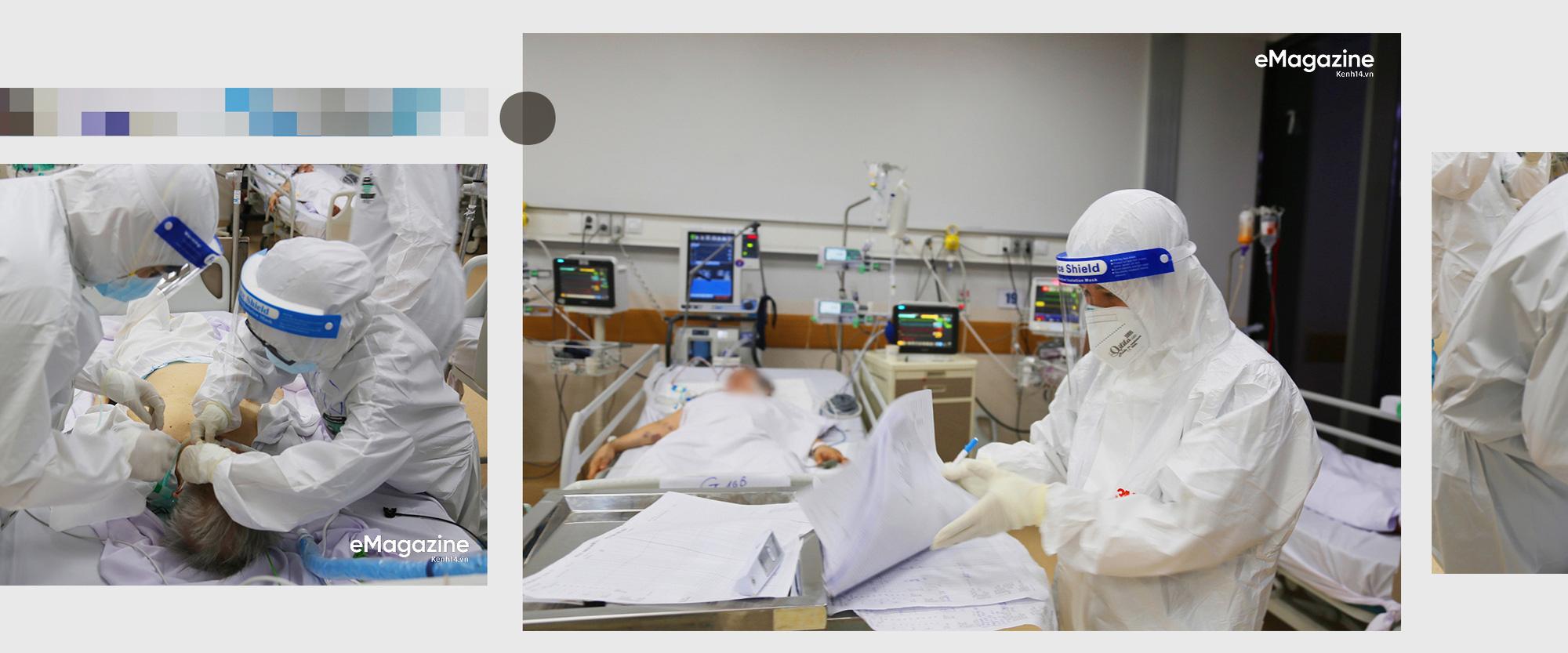 """7 giờ tại bệnh viện hồi sức Covid-19: Phút cân não giành giật từng hơi thở và cái cúi đầu """"tạm biệt"""" - Ảnh 3."""