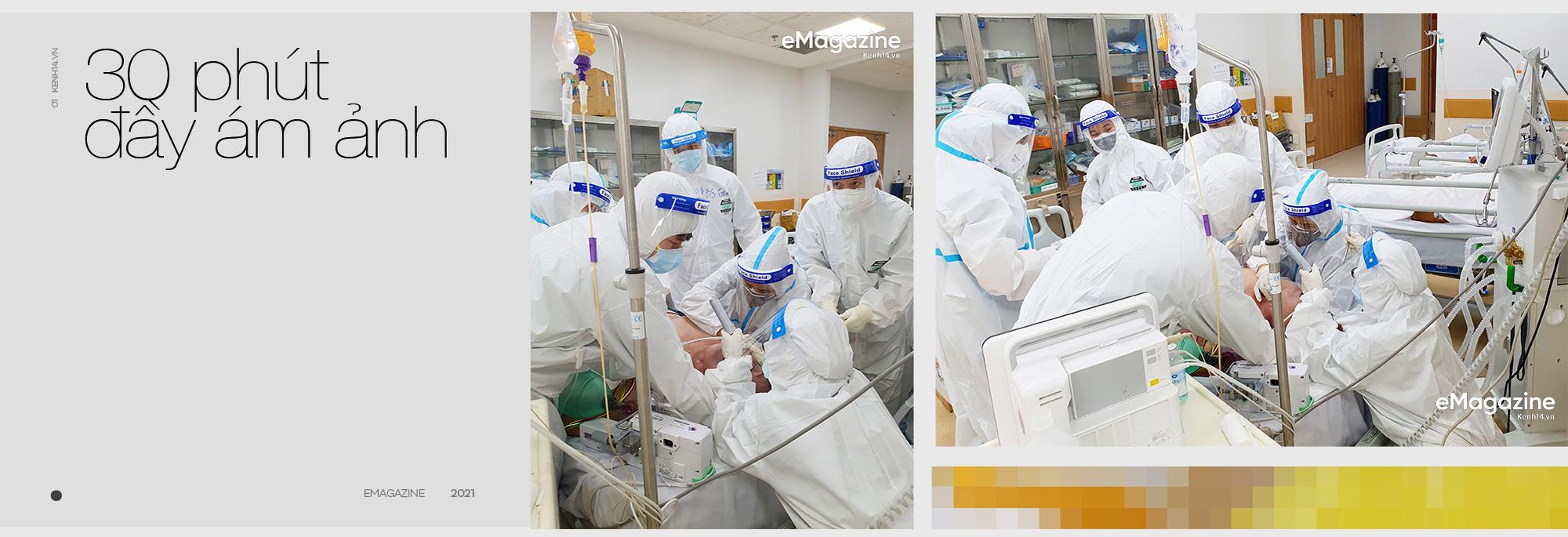 """7 giờ tại bệnh viện hồi sức Covid-19: Phút cân não giành giật từng hơi thở và cái cúi đầu """"tạm biệt"""" - Ảnh 1."""