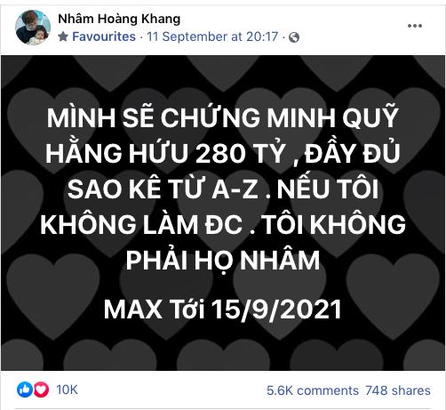 Lật tẩy hàng loạt chiêu trò mà cậu IT Nhâm Hoàng Khang sử dụng để lách luật trước giờ công khai sao kê - ảnh 1