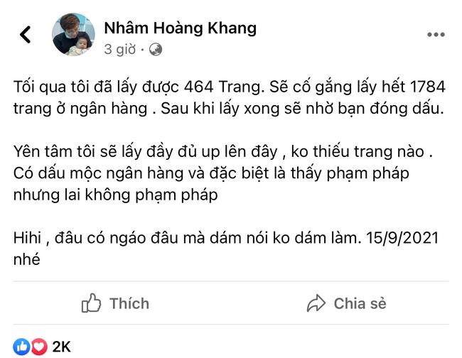 Lật tẩy hàng loạt chiêu trò mà cậu IT Nhâm Hoàng Khang sử dụng để lách luật trước giờ công khai sao kê - ảnh 2