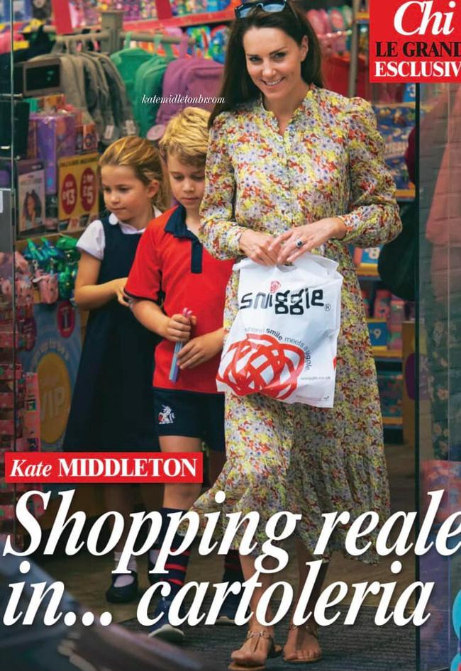 Công nương Kate lộ diện sau 60 ngày mất hút, đưa 2 con đi mua sắm với loạt cử chỉ tinh tế - ảnh 2