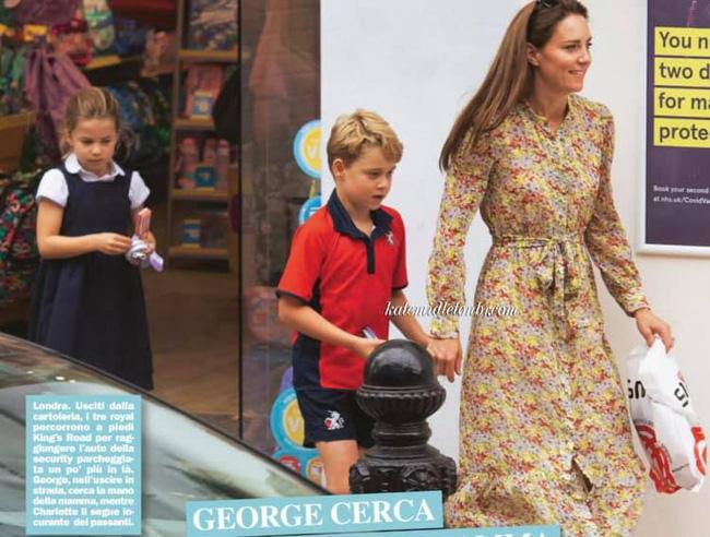 Công nương Kate lộ diện sau 60 ngày mất hút, đưa 2 con đi mua sắm với loạt cử chỉ tinh tế - ảnh 5